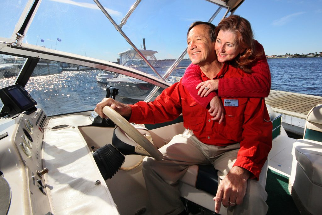 Sue and Tom of Manatee Pocket Yacht Sales